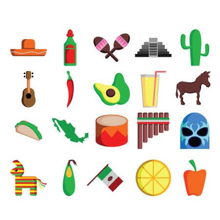 Raccolta di icone messicane