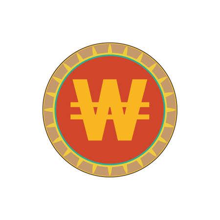 korea won currency symbol