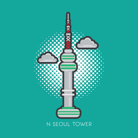 touristic: n seoul tower