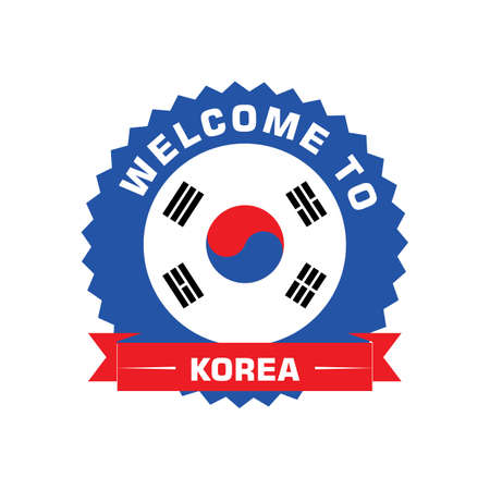 welcome to korea label Çizim