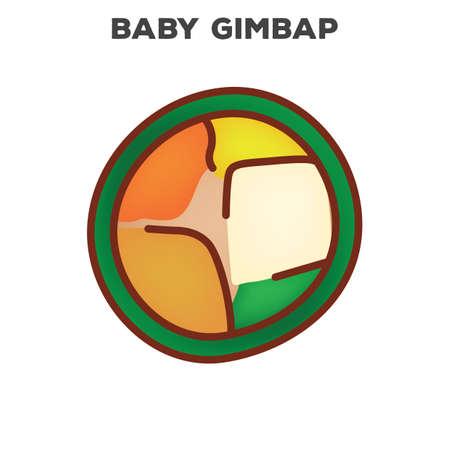 gimbap Illustration