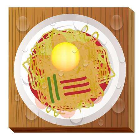 ramyeon Stock Illustratie