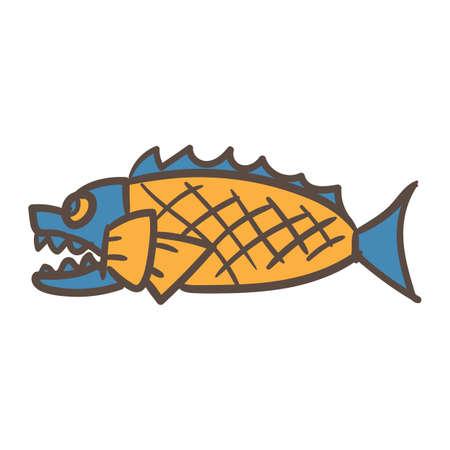 fillings: fish bread