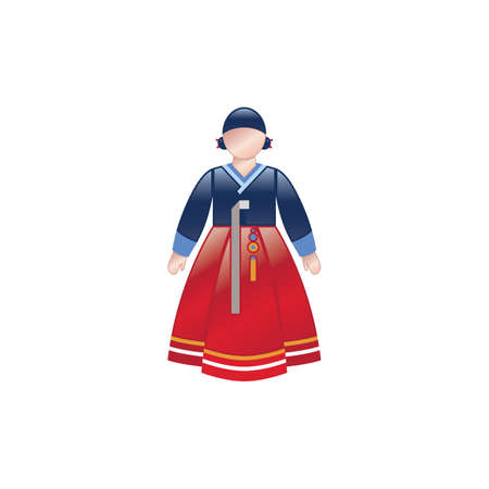 south korean female traditional clothing