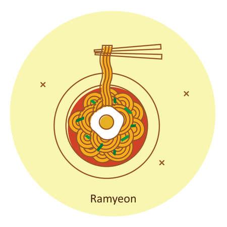ramyeon Illustration