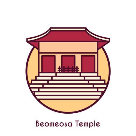 beomeosa temple Çizim