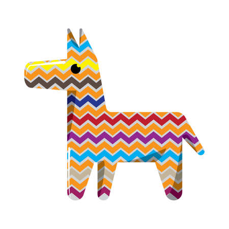 stuff toys: pinata Illustration