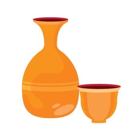 한국 와인 병