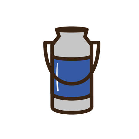 Canister: milk canister