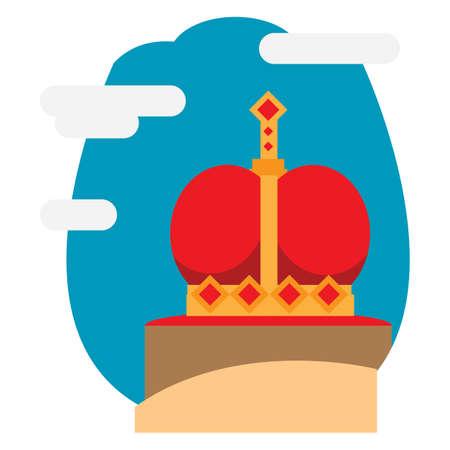 Coroa dos países baixos Foto de archivo - 79157494