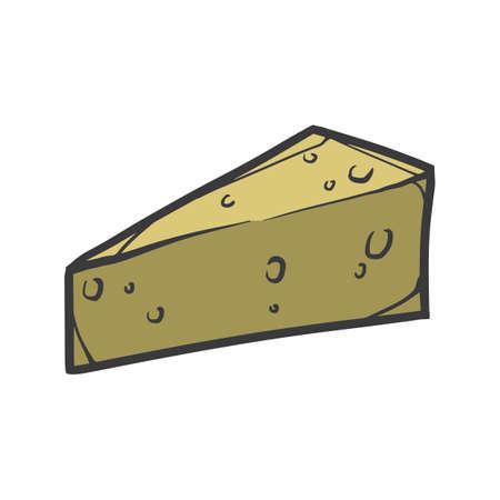 Cheese slice Imagens - 79214028
