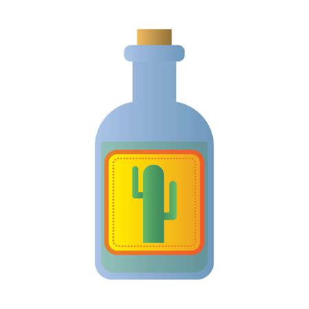 ウチワ サボテン ジュースの瓶