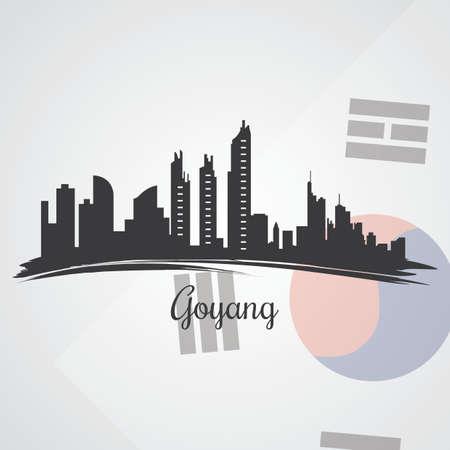 goyang skyline silhouet
