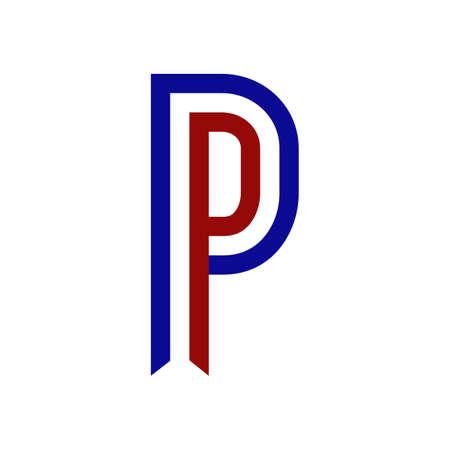 netherlands ribbon alphabet p