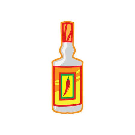 hot sauce Ilustração