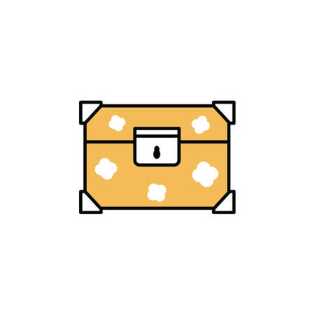 locker storage chest Illustration