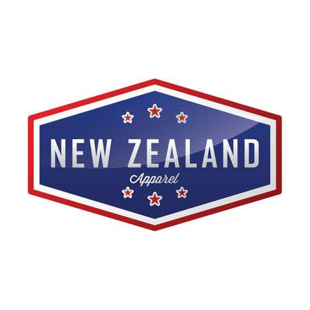 ニュージーランド アパレル ラベル デザイン