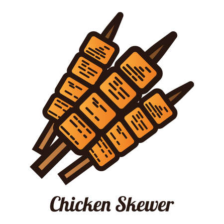 chicken skewer