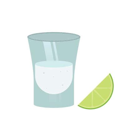 tequila shot 向量圖像