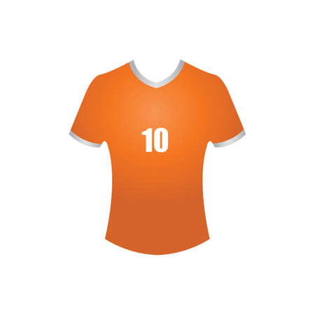 jersey: football jersey Illustration