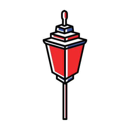 lamp post Illustration