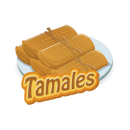 tamales Illustration