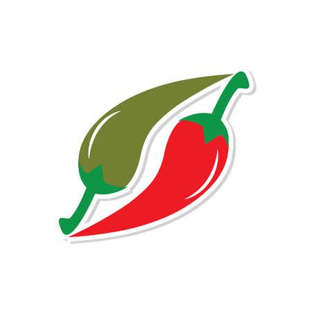 chilli peppers Ilustracja