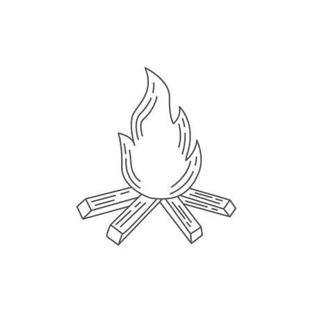 campfire Ilustrace