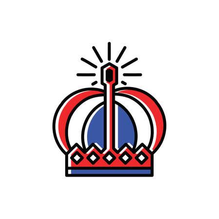 Corona de países bajos Foto de archivo - 79160308