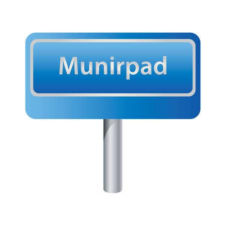 road signage Illustration