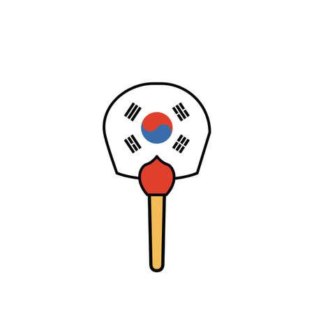 south korean hand fan
