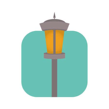 lamp post Иллюстрация