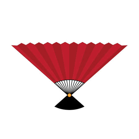folding fan Ilustração