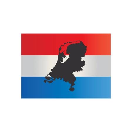 netherlands with flag