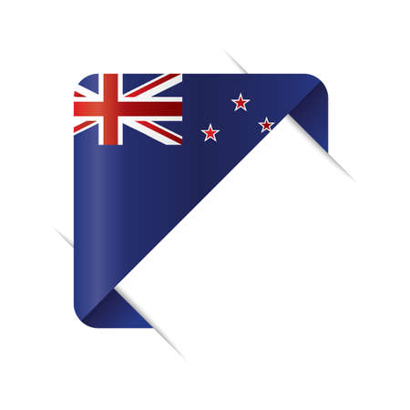 new zealand bookmark design Stock fotó - 79187076