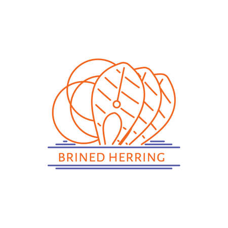 brined herring