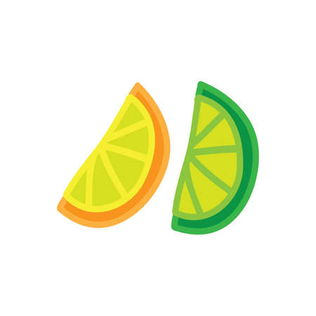 lime and orange slices
