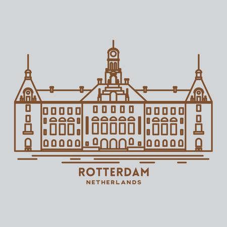 Rotterdam Standard-Bild - 79187277