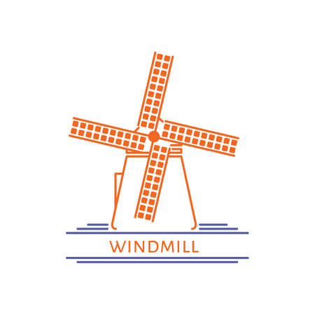Moulin à Banque d'images - 79187337