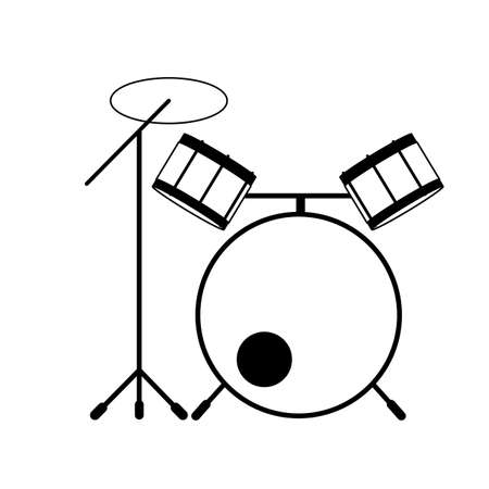 drum set Stock Vector - 79160343