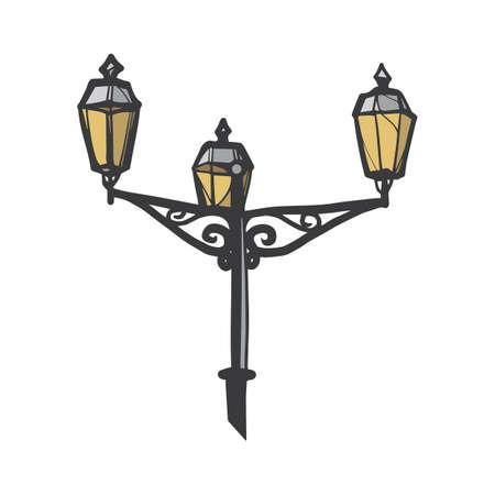 lamp post Illustration