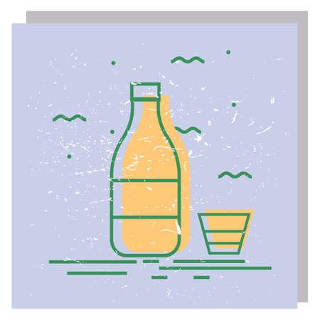 Soju icon 向量圖像