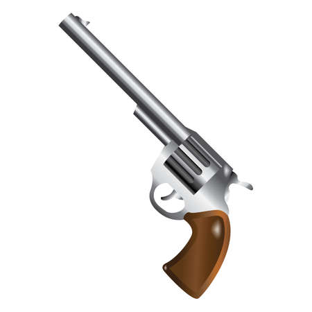 pistol Stock Vector - 79187415