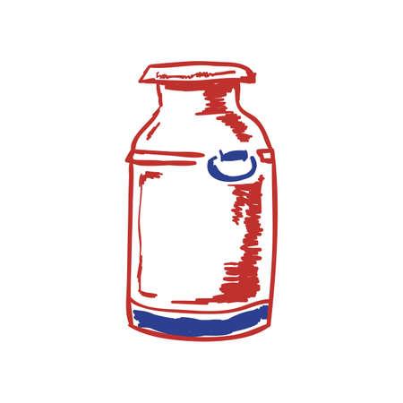 milk canister Reklamní fotografie - 79187745