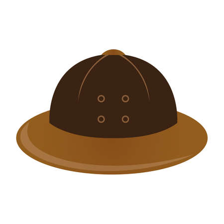 safari hat Illustration