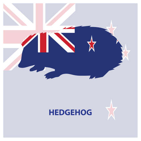 squeal: hedgehog Illustration