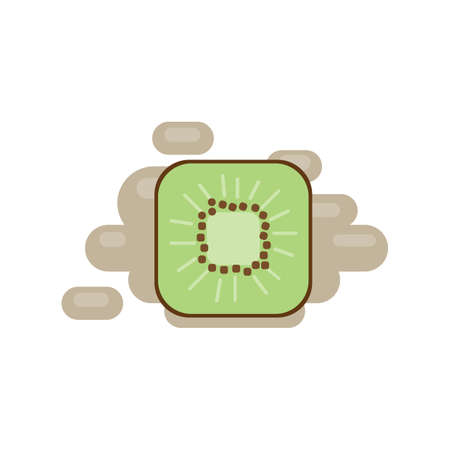 kiwi fruit Illustration