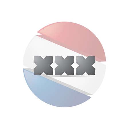 xxx text Stok Fotoğraf - 79188599