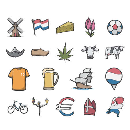 Collection of Netherlands icons
