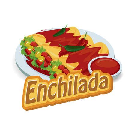 enchilada: enchilada